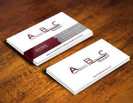 #28 for Design some Business Cards for ABC Bakery af gohardecent