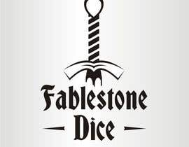 #2 untuk Design a Logo for Fablestone Dice - Fantasy roleplaying theme oleh sergeykuzych