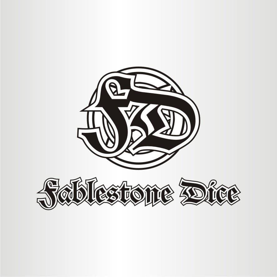 Penyertaan Peraduan #4 untuk Design a Logo for Fablestone Dice - Fantasy roleplaying theme