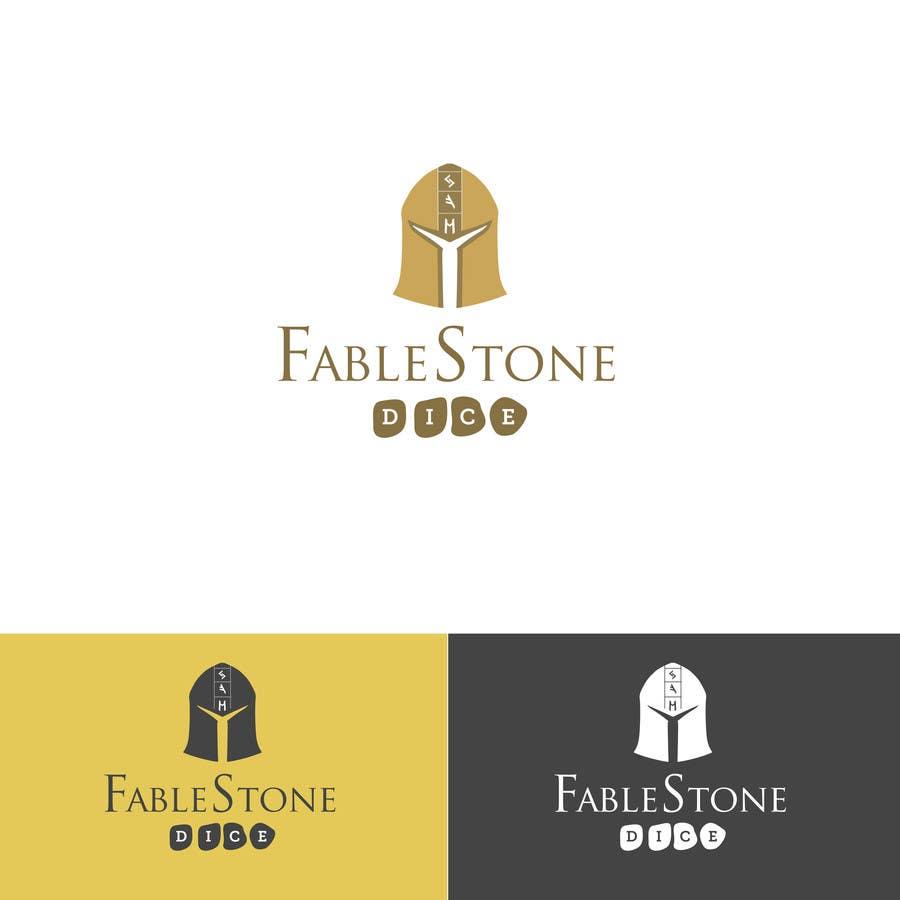 Penyertaan Peraduan #9 untuk Design a Logo for Fablestone Dice - Fantasy roleplaying theme