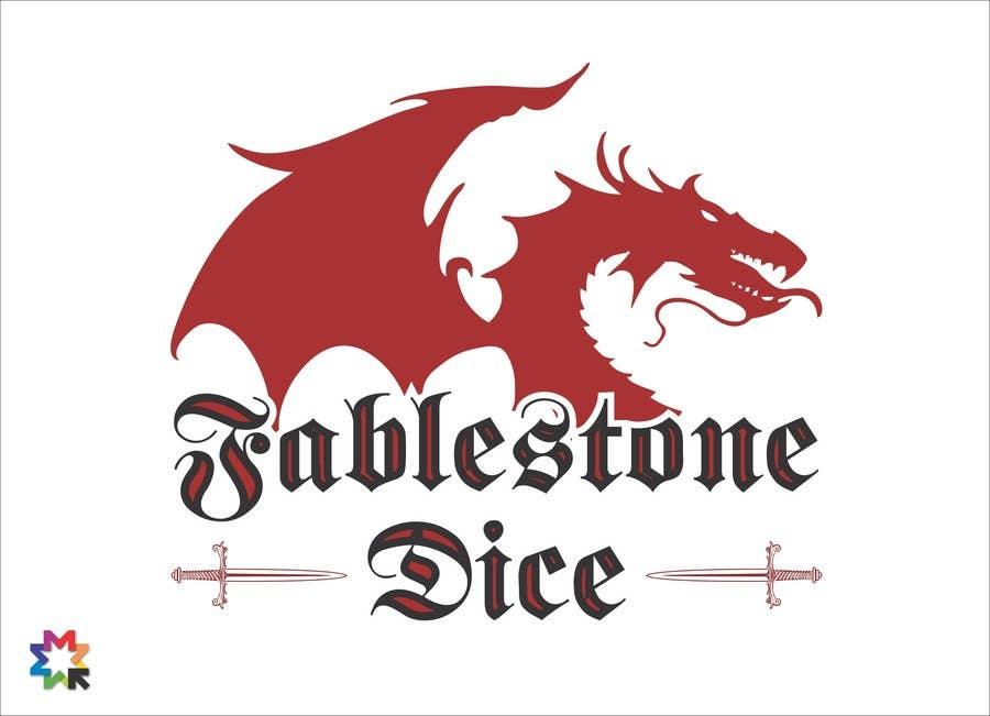 Penyertaan Peraduan #13 untuk Design a Logo for Fablestone Dice - Fantasy roleplaying theme