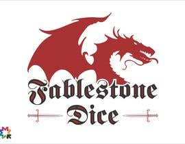 #13 untuk Design a Logo for Fablestone Dice - Fantasy roleplaying theme oleh sergiocossa