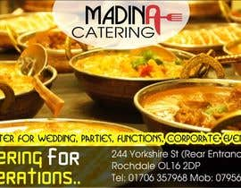 #11 cho Design a Banner for Madina Catering bởi pndesigntech