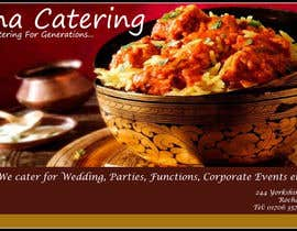 #7 cho Design a Banner for Madina Catering bởi Kaurroop27