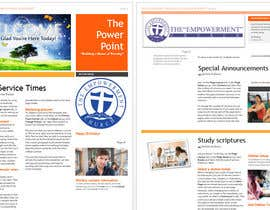 #4 untuk Design a Brochure for Church Newsletter Template oleh danasugu