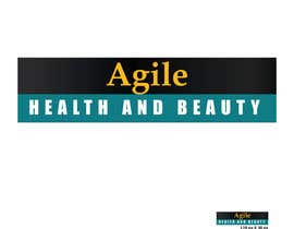 """#54 untuk Design a small logo with text """"Agile Health and Beauty"""" - 120x30 px oleh n24"""