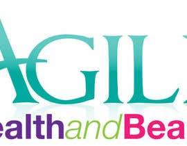 """ivmolina tarafından Design a small logo with text """"Agile Health and Beauty"""" - 120x30 px için no 35"""