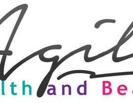 """ivmolina tarafından Design a small logo with text """"Agile Health and Beauty"""" - 120x30 px için no 36"""