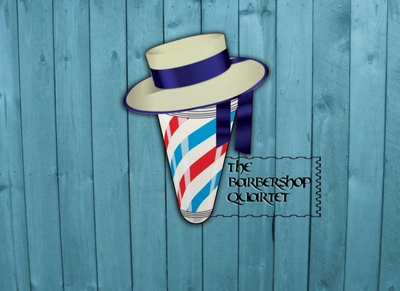 Contest Entry #52 for Design a Logo for a Barbershop Quartet