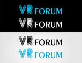 #18 cho Design a Logo for VR Forum bởi stoilova