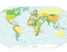 #21 cho Map of the world or map of the USA bởi vivekdaneapen