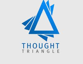 #45 for Design a Logo for a writing service provider - Thought Triangle af Tommy50