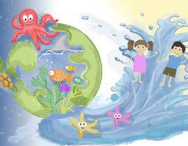 #6 untuk Ecological Drawing about kids and sea oleh Wilq88