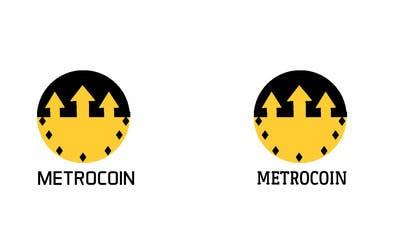 sridha858 tarafından Design a Logo for Metrocoin için no 26
