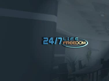 "#45 untuk Design a Logo for ""24/7 Life Freedom"" oleh silverhand00099"