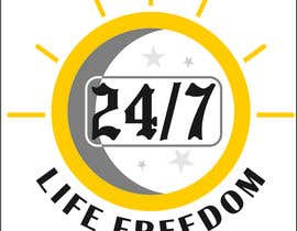 "#57 para Design a Logo for ""24/7 Life Freedom"" por Monucamboz"