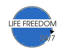 "#73 para Design a Logo for ""24/7 Life Freedom"" por kath3624"