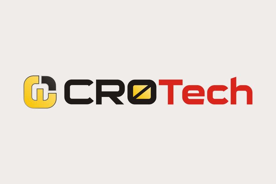 Kilpailutyö #                                        146                                      kilpailussa                                         Logo Design for CR0Tech