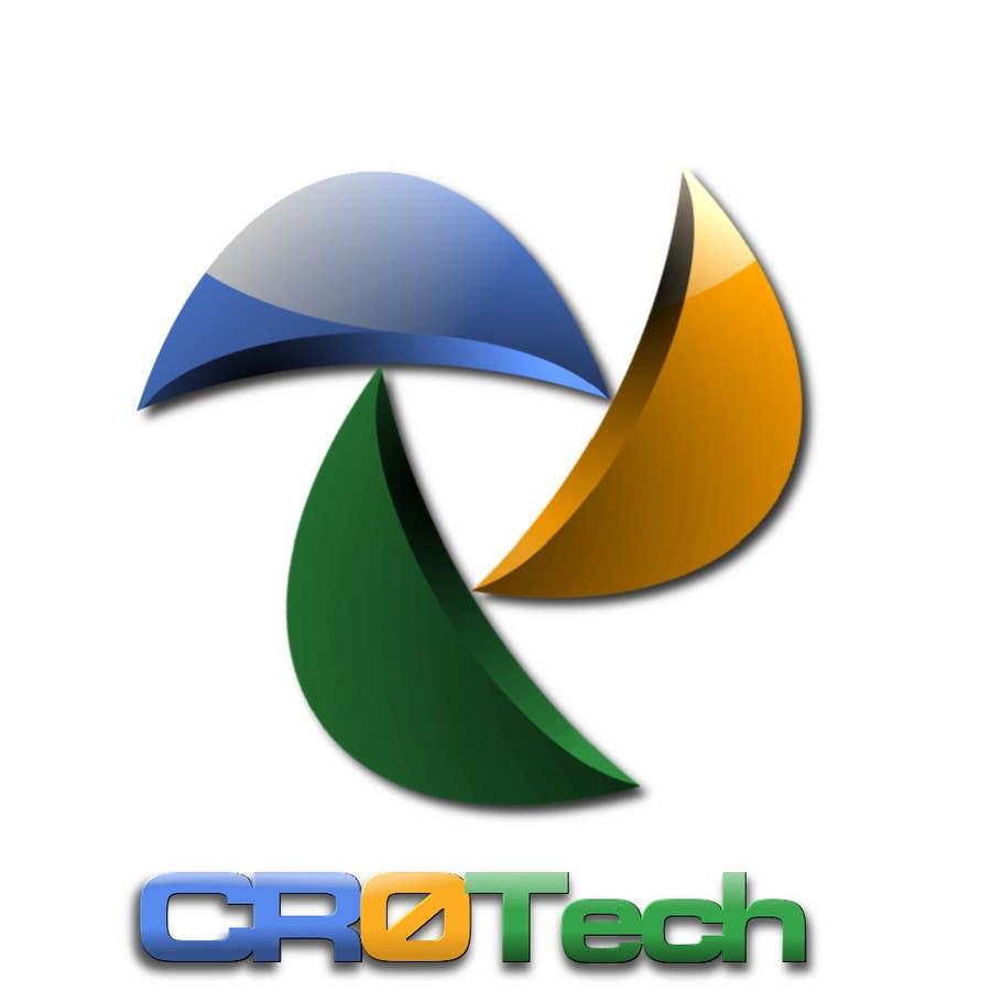 Kilpailutyö #                                        209                                      kilpailussa                                         Logo Design for CR0Tech