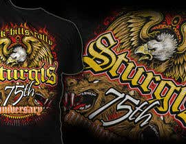 #38 for Design a T-Shirt for STURGIS 2015 75th Anniversary af MayonPunx