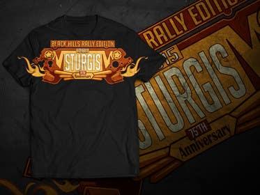 Nro 18 kilpailuun Sturgis Namedrop T-Shirt Design Contest käyttäjältä akazuk