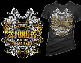#34 for Design a (((LADIES))) T-Shirt for STURGIS 2015 75th Anniversary af simrks