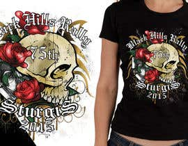 #45 for Design a (((LADIES))) T-Shirt for STURGIS 2015 75th Anniversary af MadaU