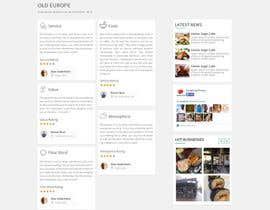 #7 for Create a Restaurant Review Page! af Ganeshdas
