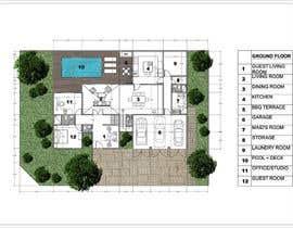 vlangaricas tarafından Floorplan for modern contemporary house için no 51