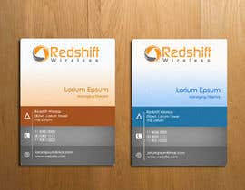 #28 para Business Card for Redshift Wireless por nehaTheDesigner