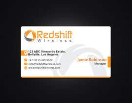 #26 for Business Card for Redshift Wireless by santanubera9