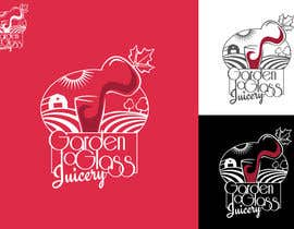 Attebasile tarafından Design a Logo for Garden To Glass Juicery için no 66