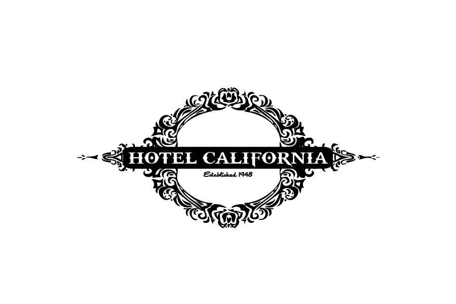 Entri Kontes #                                        71                                      untuk                                        Vintage T-shirt Design for HOTEL CALIFORNIA