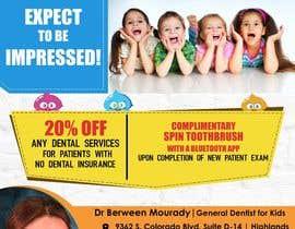 #3 for Design a Flyer for Kids Dentistry af arsh8singhs