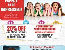 #23 for Design a Flyer for Kids Dentistry by arsh8singhs