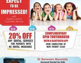 #23 cho Design a Flyer for Kids Dentistry bởi arsh8singhs