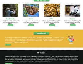#12 untuk Design a Wordpress Mockup for Eco Bee oleh NSpokhriyal