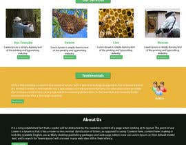#13 untuk Design a Wordpress Mockup for Eco Bee oleh NSpokhriyal