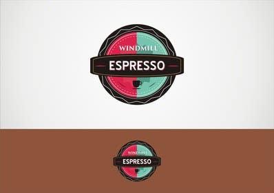 gorantomic tarafından Design a Logo for Windmill Espresso için no 4
