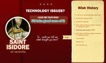 Graphic Design Contest Entry #2 for Graphic Design for One page web site for the Saint Of the Internet: St. Isidore of Seville