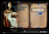 Graphic Design Contest Entry #12 for Graphic Design for One page web site for the Saint Of the Internet: St. Isidore of Seville