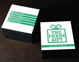 #23 untuk Design Social Media Business Cards for The boxed Gift oleh carlostronick