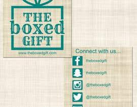 #7 for Design Social Media Business Cards for The boxed Gift af rbedford