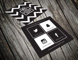#41 untuk Design Social Media Business Cards for The boxed Gift oleh shyRosely
