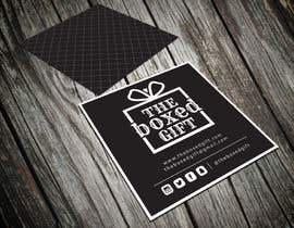 #48 untuk Design Social Media Business Cards for The boxed Gift oleh shyRosely