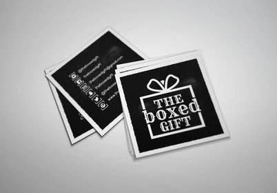 #35 for Design Social Media Business Cards for The boxed Gift af Jayson1982