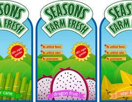 nº 31 pour Graphic Design for Seasons Farm Fresh par monselj1