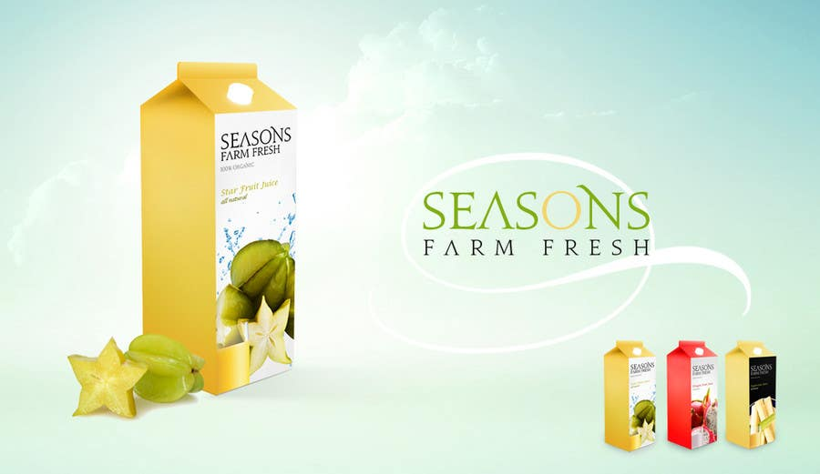 #64 for Graphic Design for Seasons Farm Fresh by creativeacron