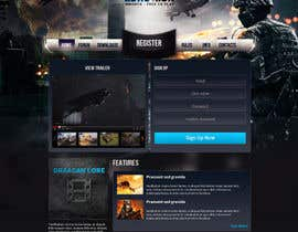 #6 for Design a Website Mockup for RTS Browser Game by tania06