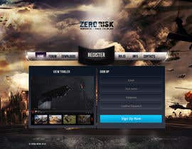 #10 for Design a Website Mockup for RTS Browser Game by tania06